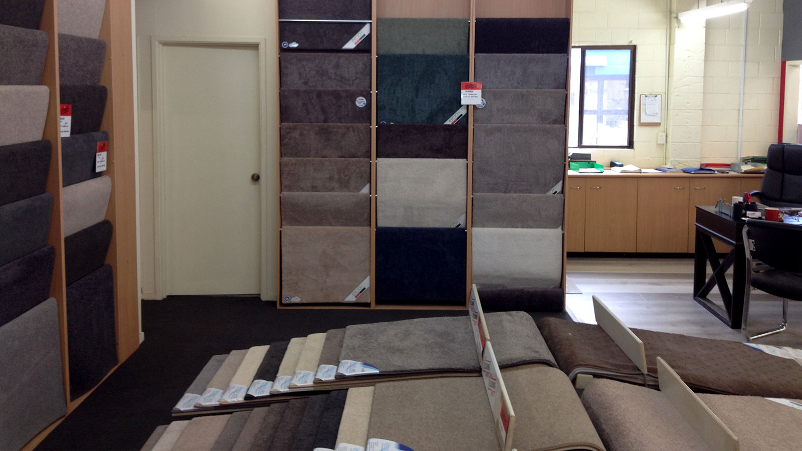 Our Flooring Product Range Inside our Gold Coast Store